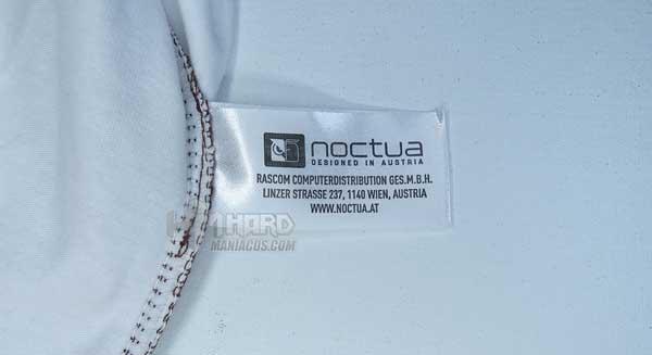 etiqueta camiseta Noctua NP-T1