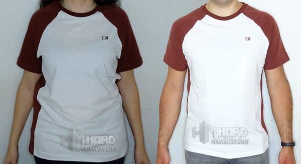 camisetas Noctua NP-T1 puestas de frente