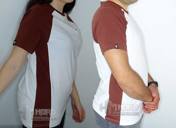 camisetas Noctua NP-T1 puestas de lado