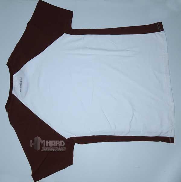 camiseta Noctua NP-T1 espalda