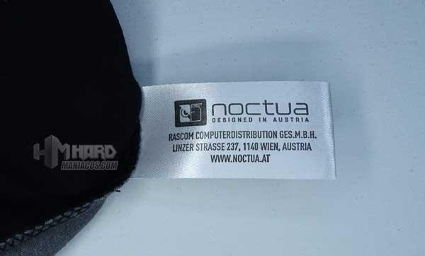 etiqueta camiseta Noctua NP-T2