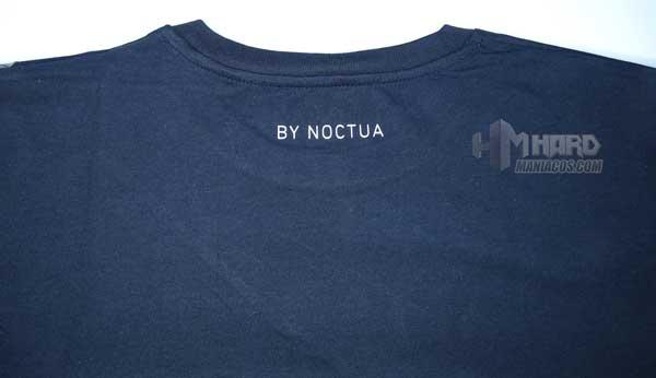 frase lema cuello espalda camiseta Noctua NP-T2