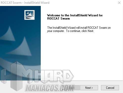 Instalacion software Roccat Elo 7.1 Air
