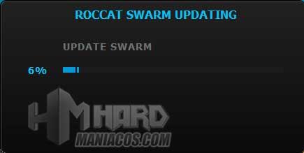 instalacion modulo Roccat Elo 7.1 Air software Roccat Swarm