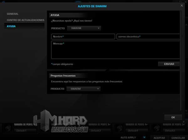 ayuda software Roccat Elo 7.1 Air