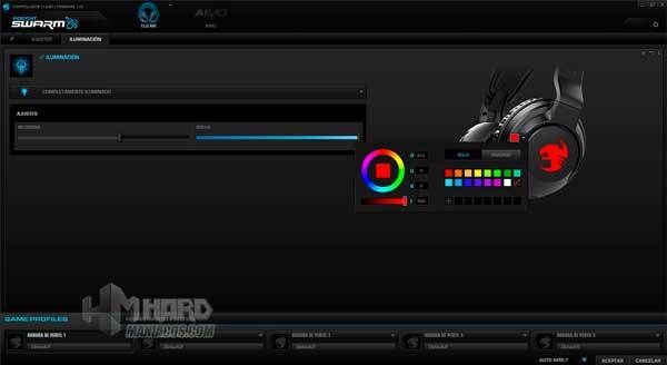 iluminacion color estatico software Roccat Elo 7.1 Air