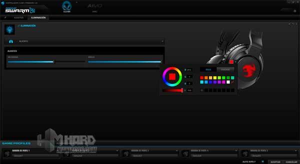iluminacion aliento software Roccat Elo 7.1 Air