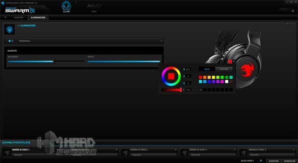 iluminacion parpadeo software Roccat Elo 7.1 Air