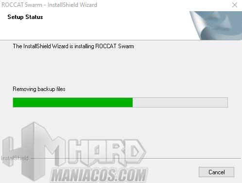 instalacion software Roccat Swarm