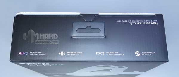 parte superior caja Roccat Elo 7.1 Air