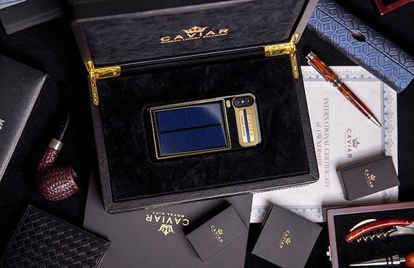 iPhone X Tesla caja presentacion