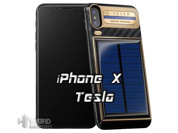 iPhone X Tesla portada