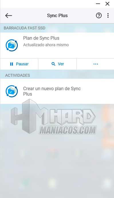 SSD Seagate BarraCuda Fast Toolkit Sync Plus plan