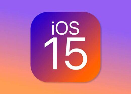 iOS 15 Portada