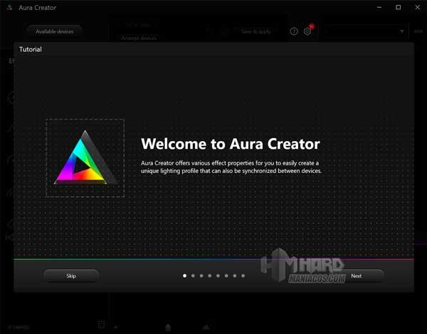 Aura Creator tutorial ROG Strix SCAR 15 G533