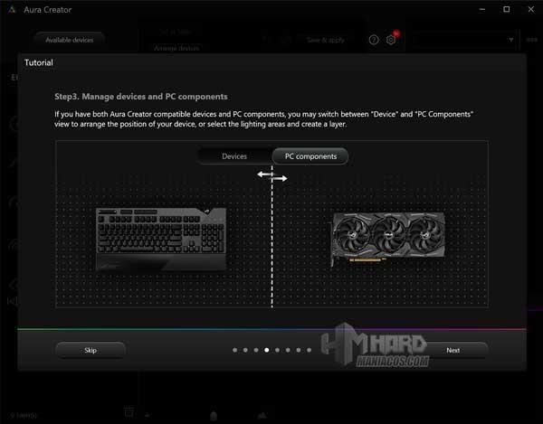 Aura Creator ROG Strix SCAR 15 G533