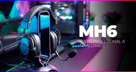 auriculares MH6