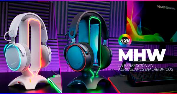 Auriculares MHW de MArs Gaming