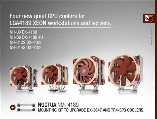 Disipadores Noctua para socket LGA4189