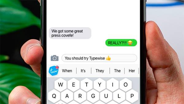 teclado Typewise MWC 2021