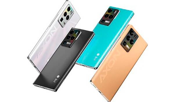 smartphones ZTE MWC 2021