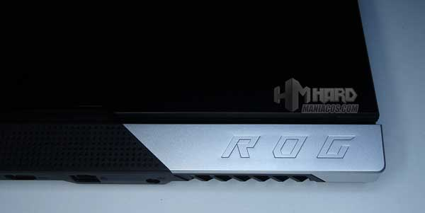 pieza metalica diseño ROG Strix SCAR 15 G533