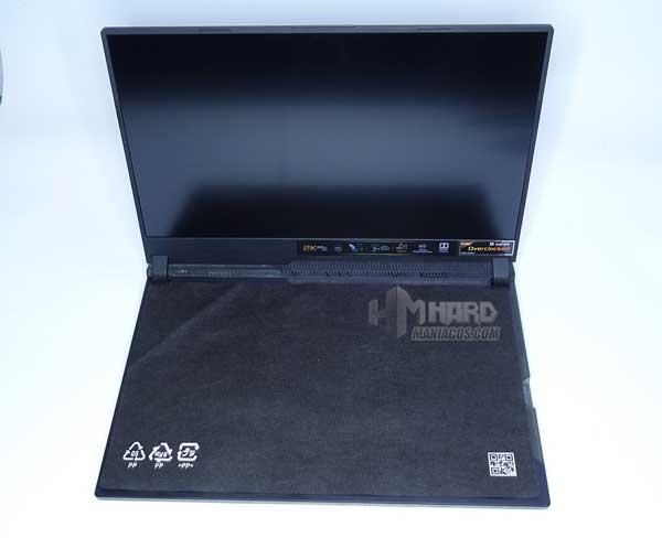 portatil ROG Strix SCAR 15 G533 unboxing