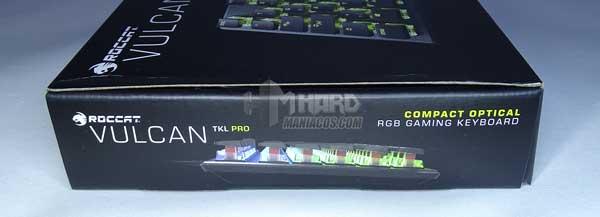 Roccat Vulcan TKL Pro lateral caja