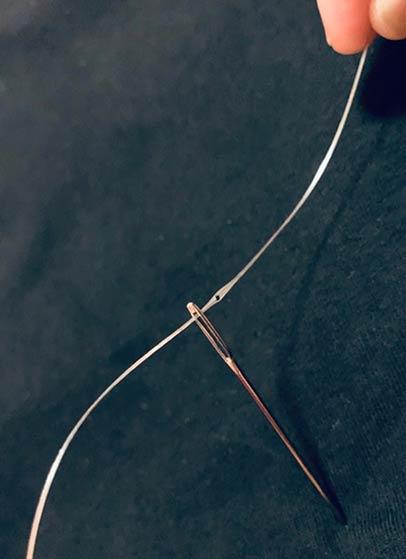 hilo de fibra digital
