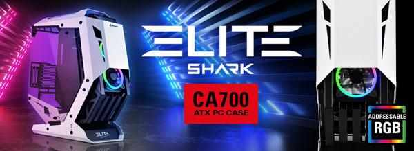 Nueva caja CA700 de marco abierto de Sharkoon
