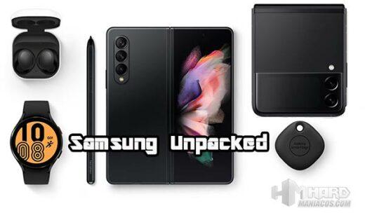 Samsung Unpacked 2021 de Agosto Portada