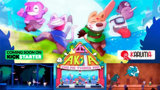 Akita King Pig Thinks Pink