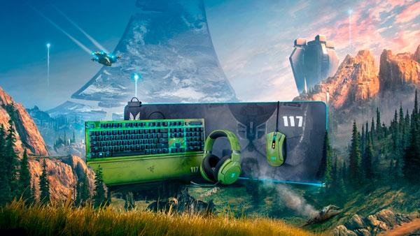 4 nuevos periféricos de Razer con licencia Halo Infinite