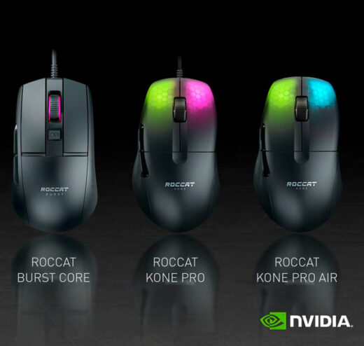 ratones roccat compatibles con analizador de latencia reflex de nvidia