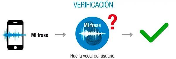 biometria de voz verificacion