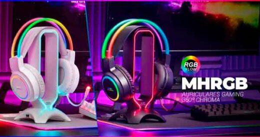 Auriculares gaming MHRGB de Mars Gaming
