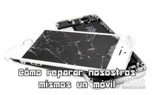 Cómo reparar la pantalla de móvil rota